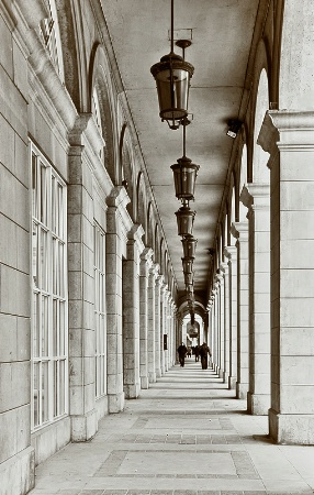 Long Colonnade on the Esplanade