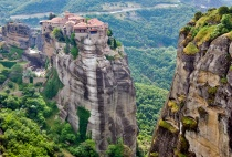Clifftop Monastery  Meteora 