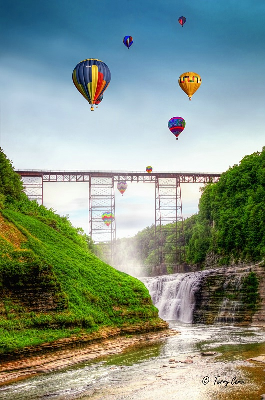 Balloons Over the Upper Falls