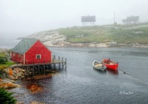 Peaceful Peggy&#39;s Cove