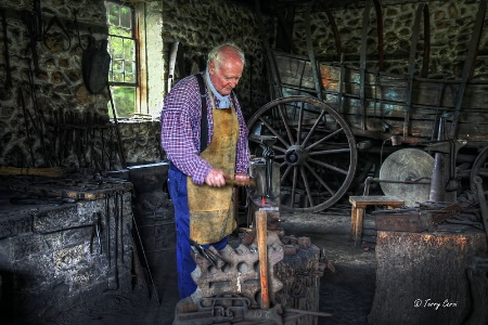 The Photo Contest 2nd Place Winner - The Wheelwright