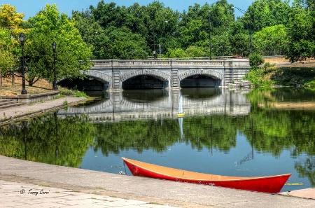 Sailing in Delaware Park