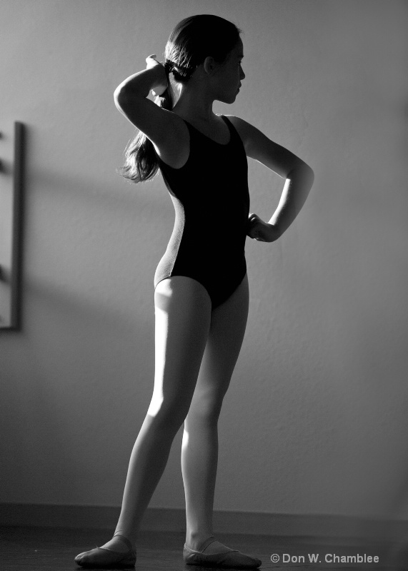 Striking a Pose.