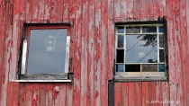 &#34;Windows From An Old Little Red Caboose&#34;