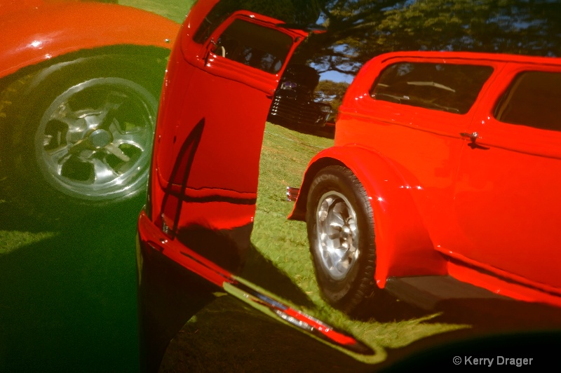 Car Show Reflection