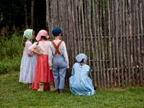 Acadian Children