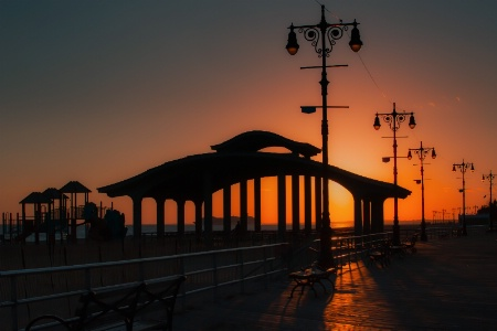 Coney Island Sunset