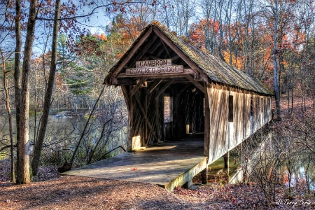 Cambron Covered Bridge