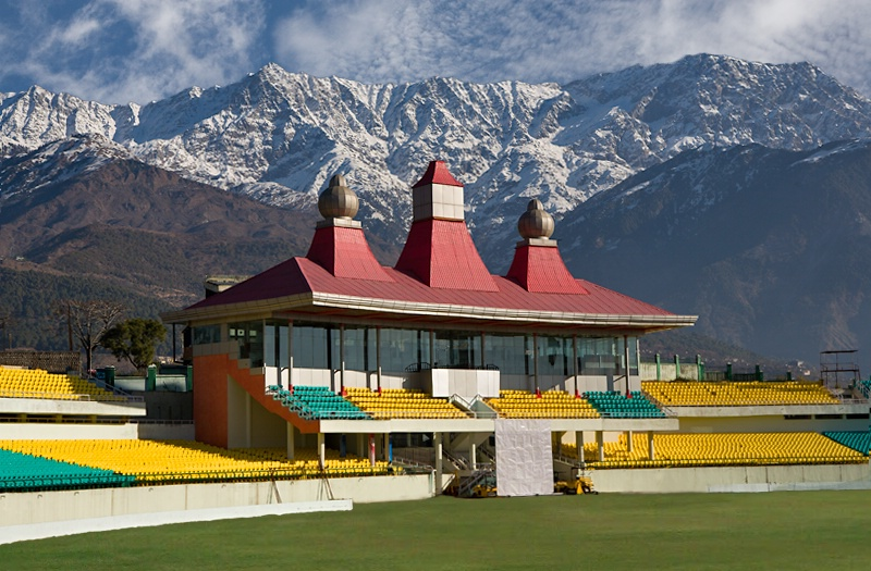 A Stadium in Dharamshala
