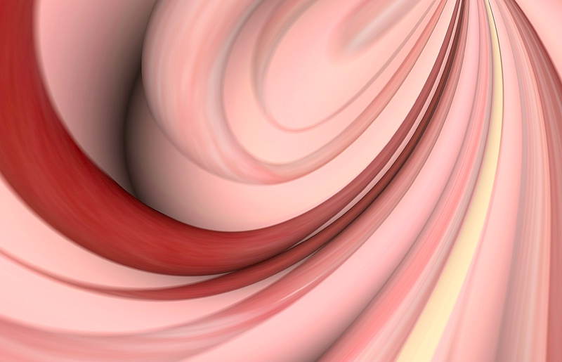 Candy Cane Swirl Abstract