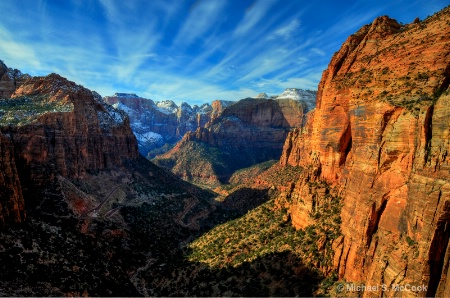Zion Valley Overlook (HDR)