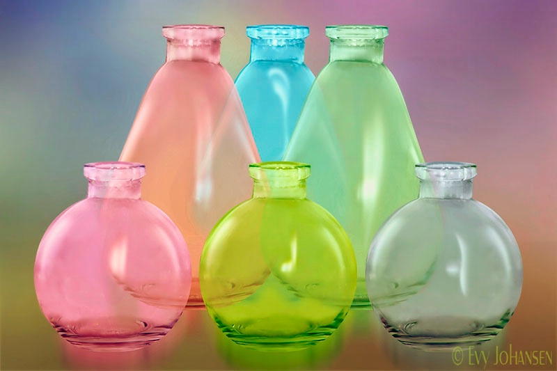 Pastle Glass