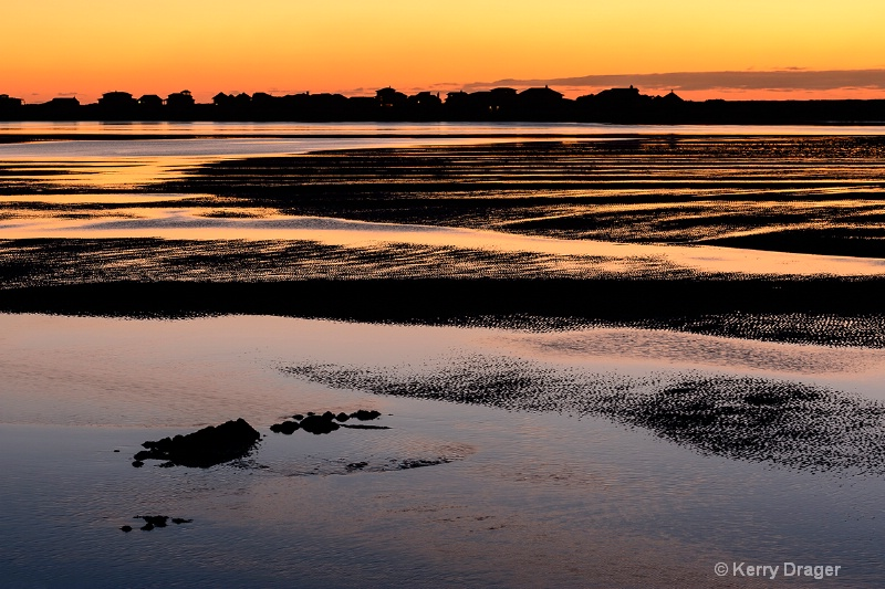 Low Tide at Sunset 1