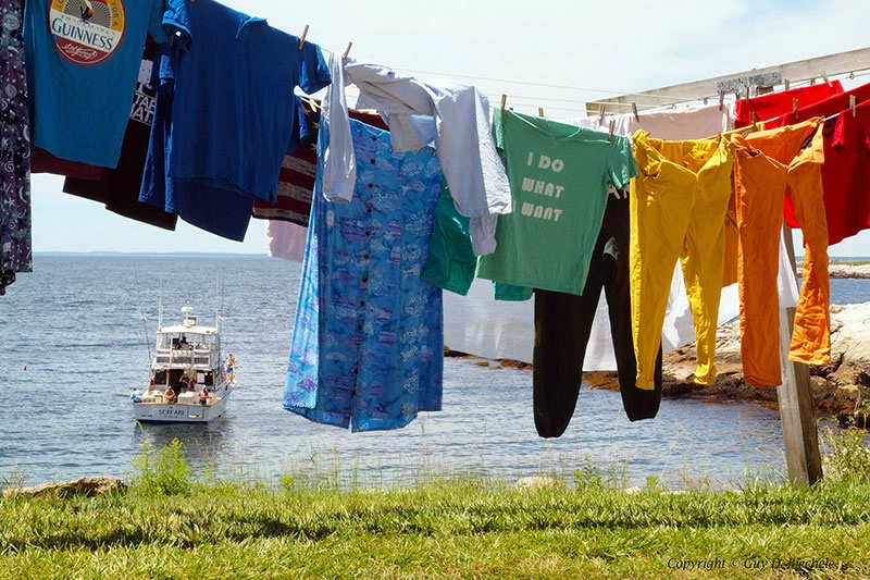 Wash Day on Star Island