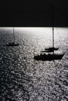 Backlit Boats in ...