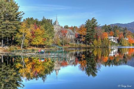 Autumn in Lake Placid