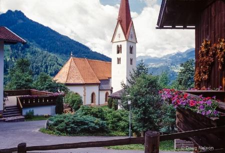 Kauns, Austria town center