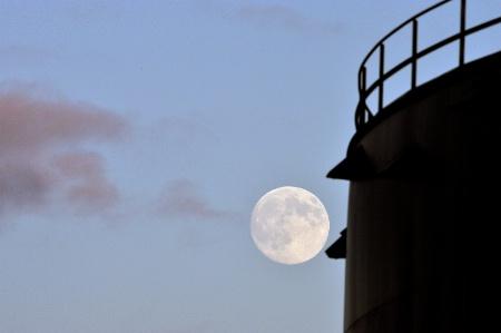 Moon meets Man