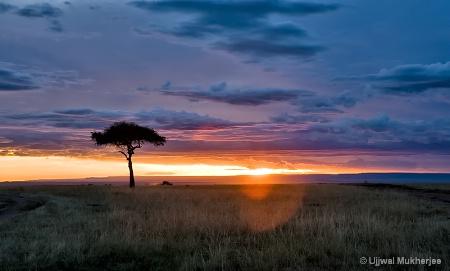 An African Sunset.