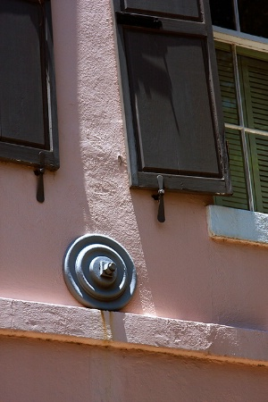 Charleston Facade Abstract