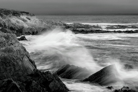 Coastal Drama at Sunset