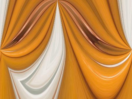 Draped in Orange