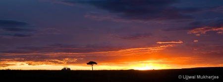 African Sunset #2