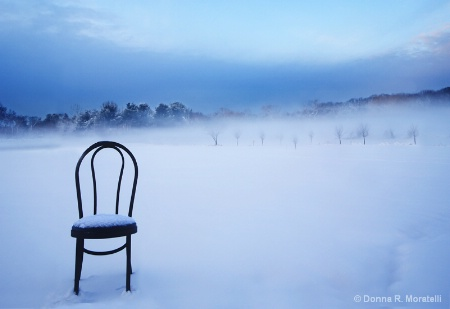 Chair in the fresh air