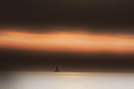 between sea ans sky