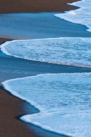 Evening Beach Blues 1