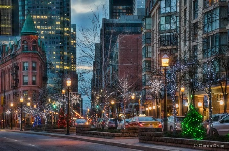 The Yonge Street Market District at Holiday T