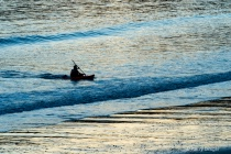 Kayaker Returning...