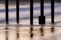 Pier Posts at Twi...