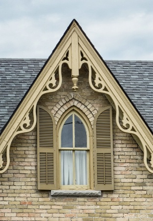 Pretty Gabled Window, Straford, ON, Canada