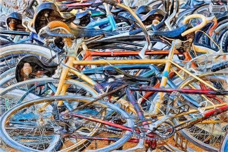 Bike Pileup