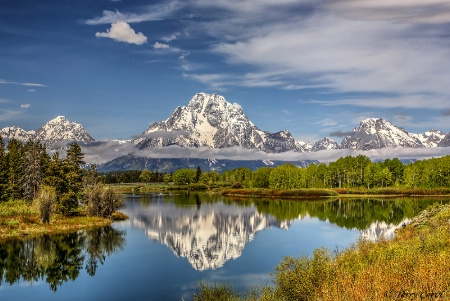 An Oxbow Bend Morning