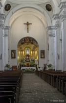 Inside the Church...