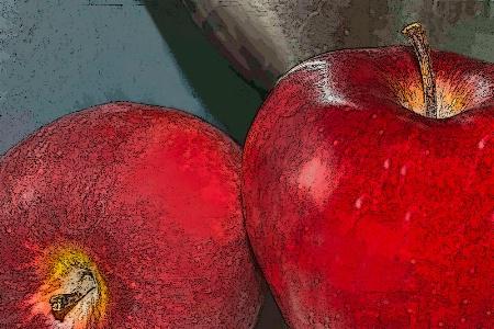 Dressed Up Apples
