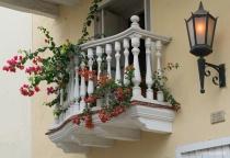 Charming Balcony