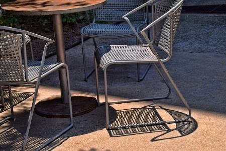 CHAIRS  AND  THEIR  SHADOWS