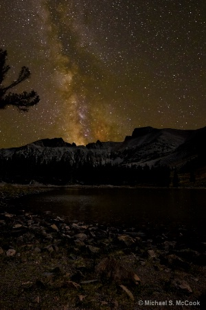 Milky Way over Wheeler Peak