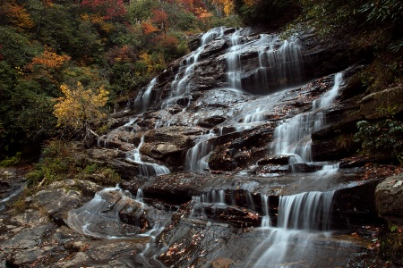 Autumn at Glen Falls