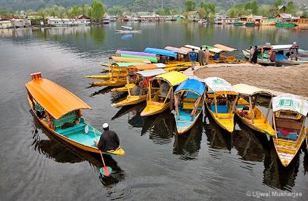 A fishing village Marina