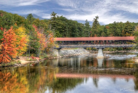 Bridge Over Saco River