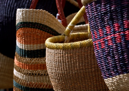 Baskets Displayed