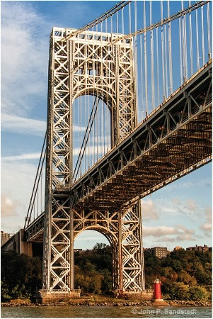 Lighthouse Under the GWB