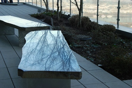 Reflections in Bench