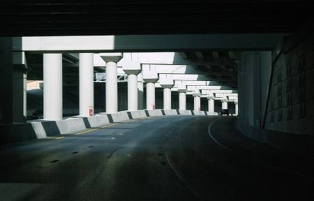 Freeway Pillars