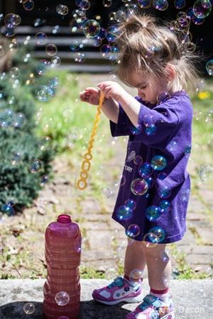 lost in bubbles