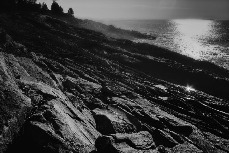 Morning at Pemaquid Point